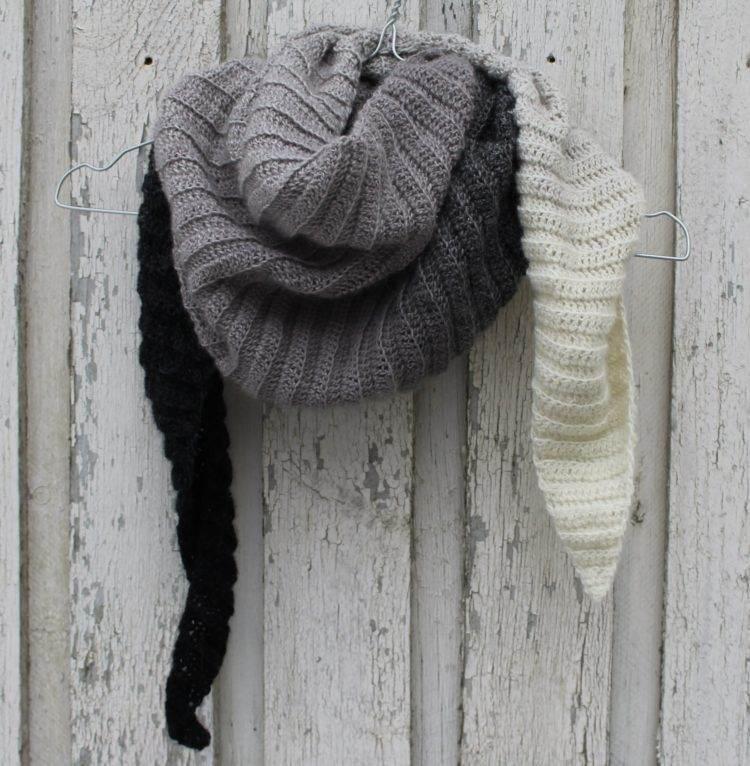Hæklet Tørklæde